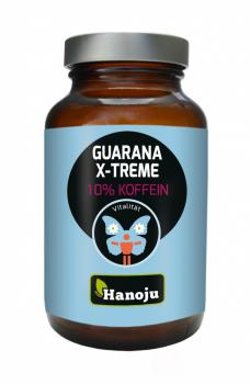 Hanoju Guarana Xtreme 500 mg mit 10% Koffein 90 Tabletten